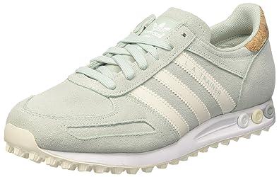 adidas Damen La Trainer Sneakers, Grün (Vapour Green F16/Off FTWR ...