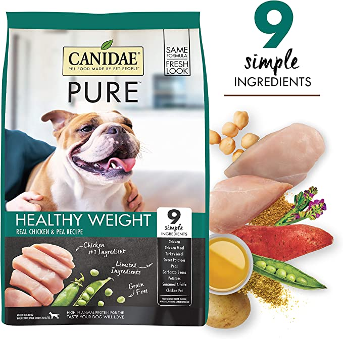 Canidae Pure Weight Management Premium Dry Dog Food - Ultimate Choice Dog Food for Pancreatitis