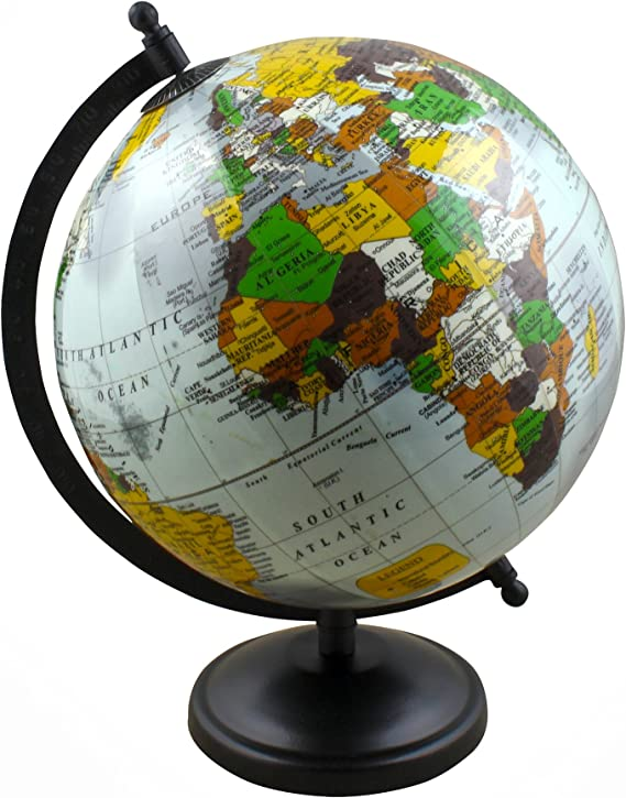 Mapa Interactivo de la Tierra del Globo Que Rota con el Soporte ...