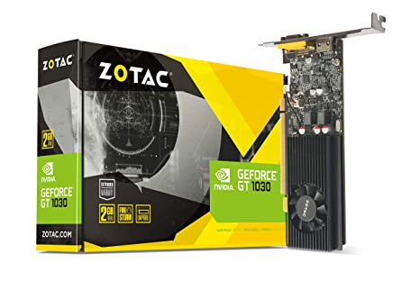 Zotac ZT-P10300E-10L - Tarjeta gráfica (GeForce GT 1030, 2 ...