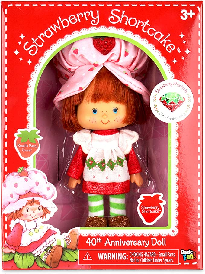 Basic Fun 12389 Strawberry Shortcake Classic Orange Blossom