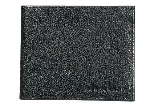 Longchamp cartera billetera bifold de hombre en piel nuevo ...