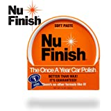 Nu Finish Paste Car Polish, Better Than Wax, 14 oz.