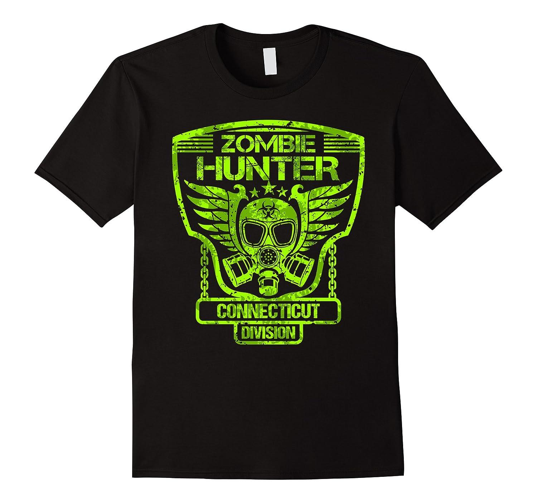 Connecticut Zombie Hunter Tshirt-T-Shirt
