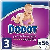 Dodot Protection Plus Activity Pañales Talla 3 (6-10 kg) 56 Pañales