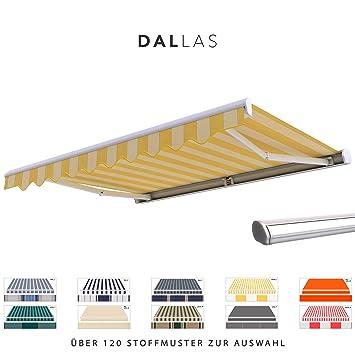 Amazon De Broxsun Kassettenmarkise Dallas Breite 2 0 Bis 6m