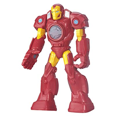 Playskool Heroes Marvel Super Hero Adventures Mech Armor Iron Man: Toys & Games