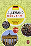 L'allemand : Débutant (4CD audio)
