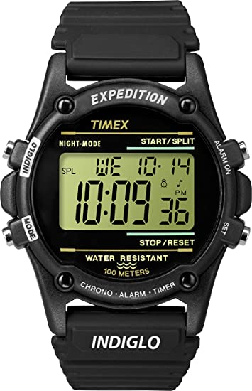 e9191e6ed Timex Mens T5K463GP Expedition Black Resin Strap Digital Dial Watch:  Amazon.ca: Watches