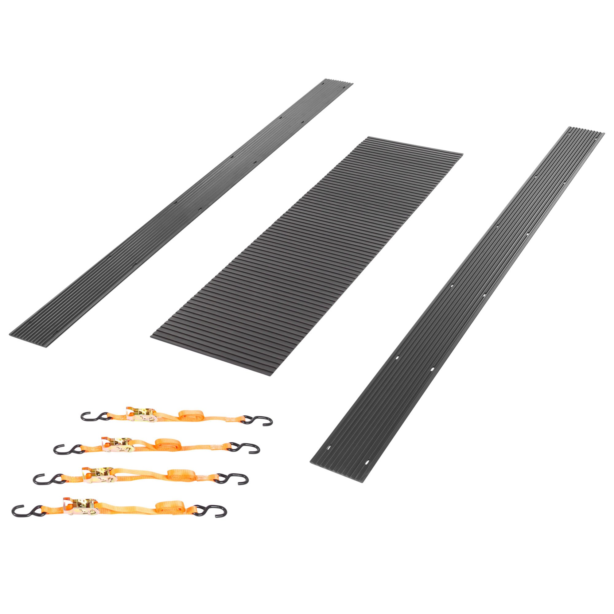 Black Ice 4x8' Snowmobile Trailer Accessory Kit by Ice Black