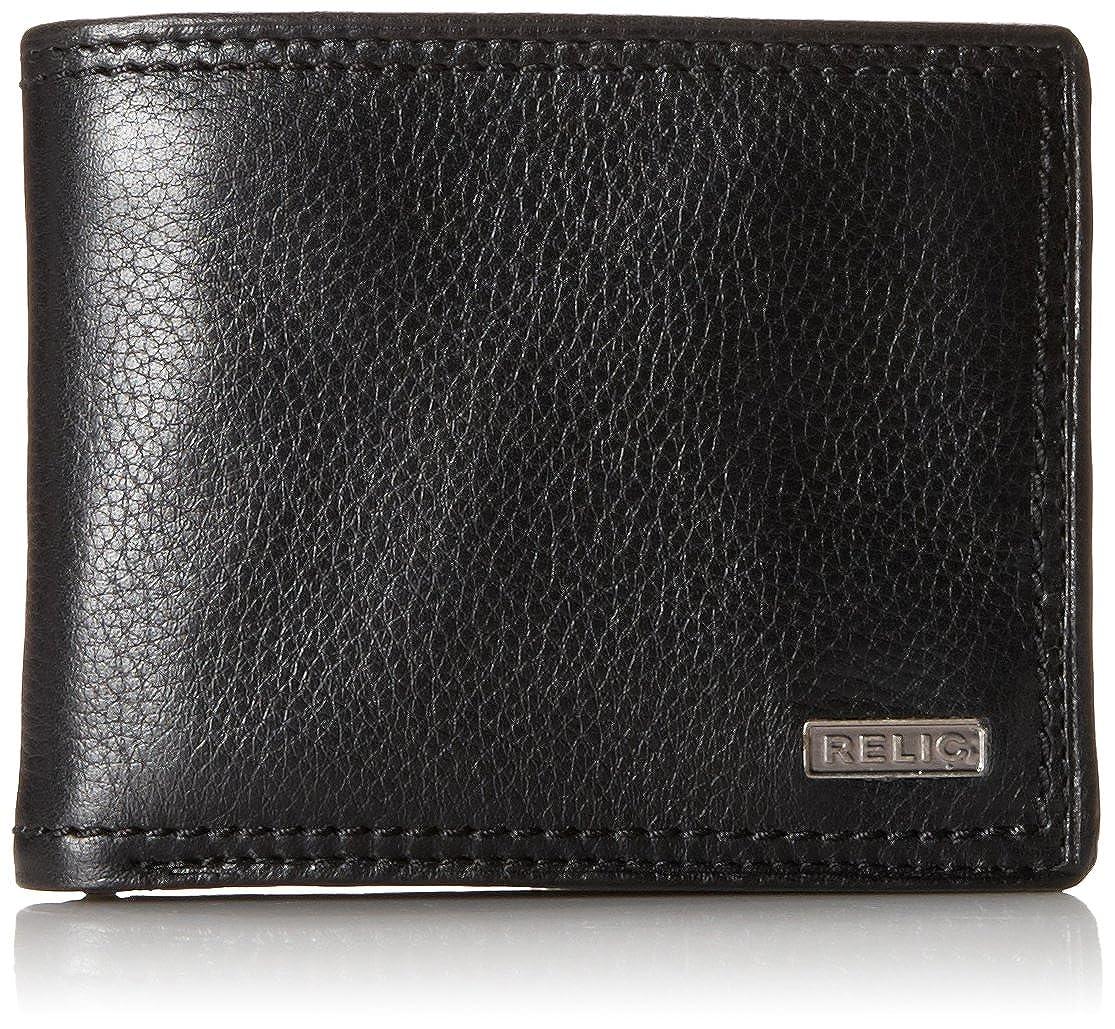 Relic Men's Mark Traveler Wallet Black One Size Relic Men' s Accessories RML5801