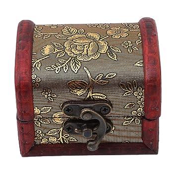 Amazoncom VWH Wooden Storage BoxHandcraft Wood Box KitCase