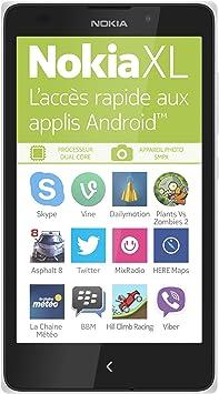 Nokia XL - Smartphone libre Android (pantalla 5