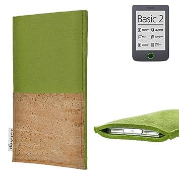 para Pocketbook Basic 2 eBook Reader Funda Carcasa Evora con ...