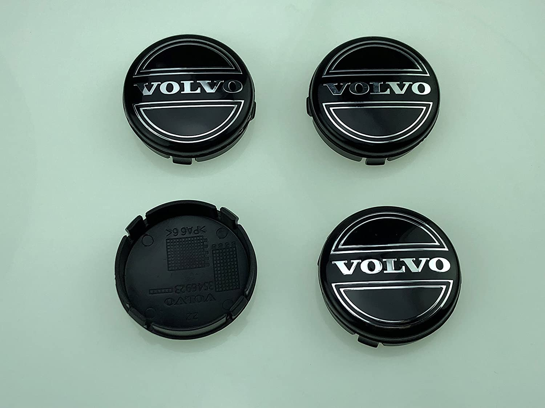 4pcs W001 64mm Emblem Badge Wheel Hub Caps Centre Cover #3546923 VOLVO V40 V60 S60 S80 XC60 XC90 Car Styling Accessories