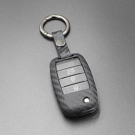 M.JVisun Carcasa de silicona suave con diseño de textura de ...
