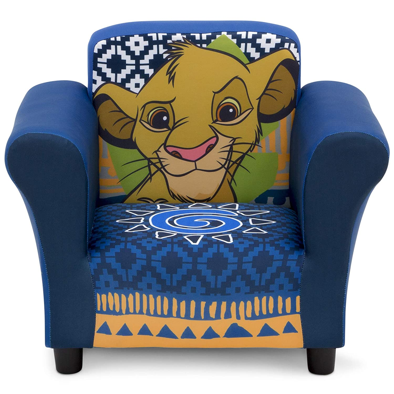 Delta Children Upholstered Chair, Disney, The Lion King