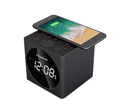 Blaupunkt BLP2612 - Despertador (Reloj Despertador Digital, Negro, 10 m, 2400 MHz, 8,25 W, 5.5 V)