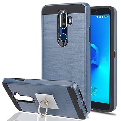 Amazon.com: Alcatel 3 V teléfono celular con soporte de ...