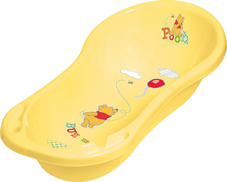 Badewannenständer Babywanne 100 cm Ständer Badewanne XXL  Winnie Pooh gelb