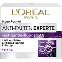 L'Oréal Paris anti-rynkor expert dagkräm 55+, anti-Age fuktighetsgrad med kalcium, 50 ml