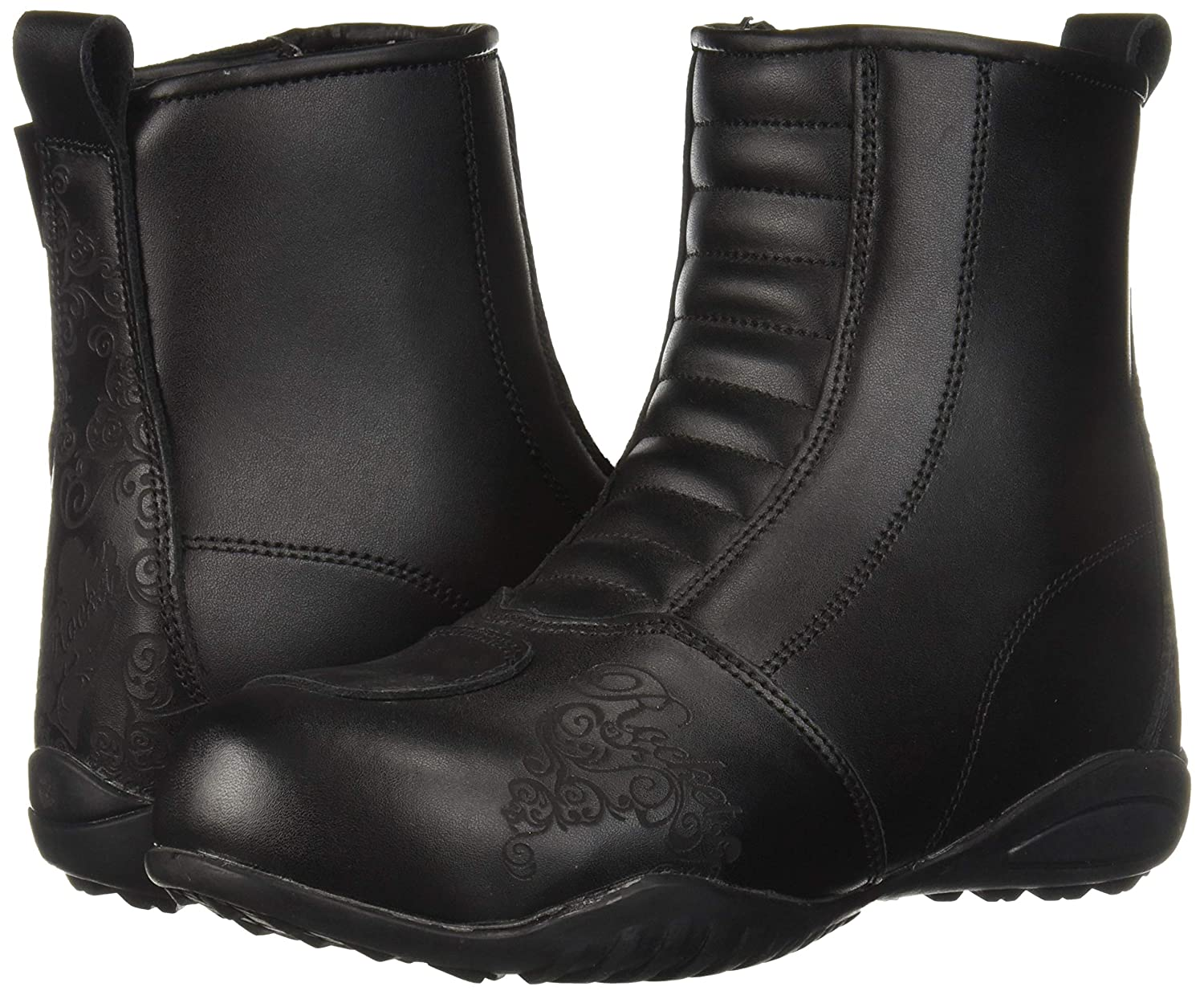 Joe Rocket Womens Trixie Boots Black, Size 6