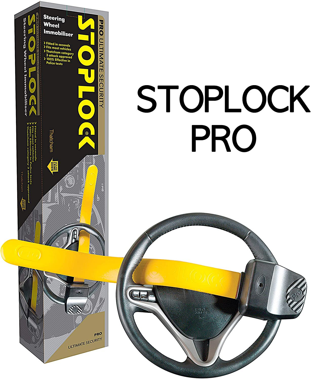Stoplock Pro Elite Anti Theft Steering Wheel Lock for Land Rover Defender 90 110