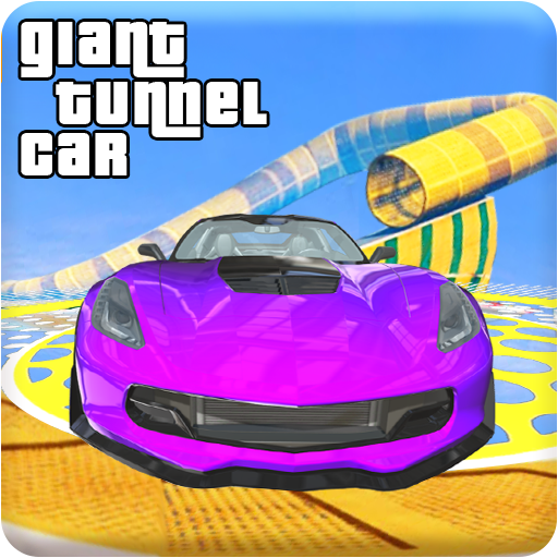 Giant Tunnel Tube GT Car Ramp Stunts Driver 2018