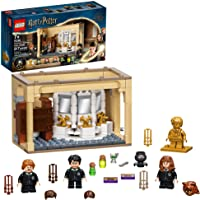 LEGO Harry Potter Hogwarts: Polyjuice Potion Mistake 76386 Bathroom Building Kit with Minifigure Transformations; New…
