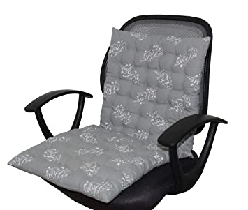 how to buy classic style online shop Oasis Home Collections Cotton Printed Back Rest Chair Cushion- Home