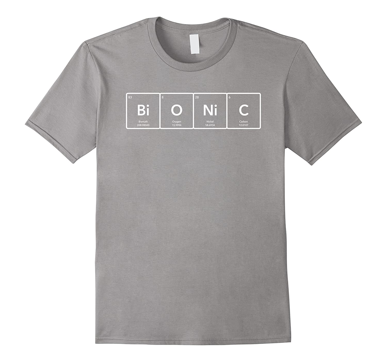 Bionic periodic table of elements t shirt anz anztshirt bionic periodic table of elements t shirt anz urtaz Image collections
