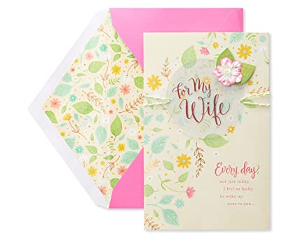 Amazon american greetings premier every day mothers day card american greetings premier every day mothers day card for wife with foil m4hsunfo
