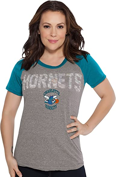 X-Large Heather Grey Touch by Alyssa Milano NBA Cleveland Cavaliers Conference Tee