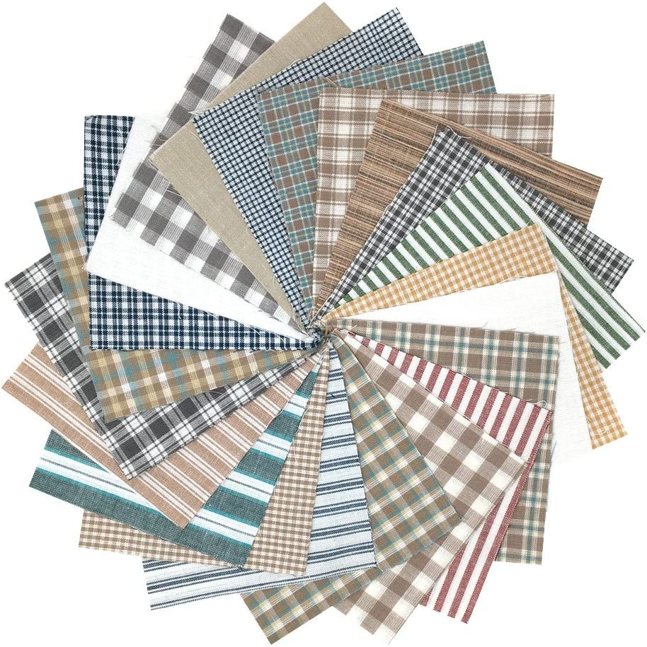 Navy Dunroven House Homespun 12-Piece Fat Quarters 18 by 21-Inch