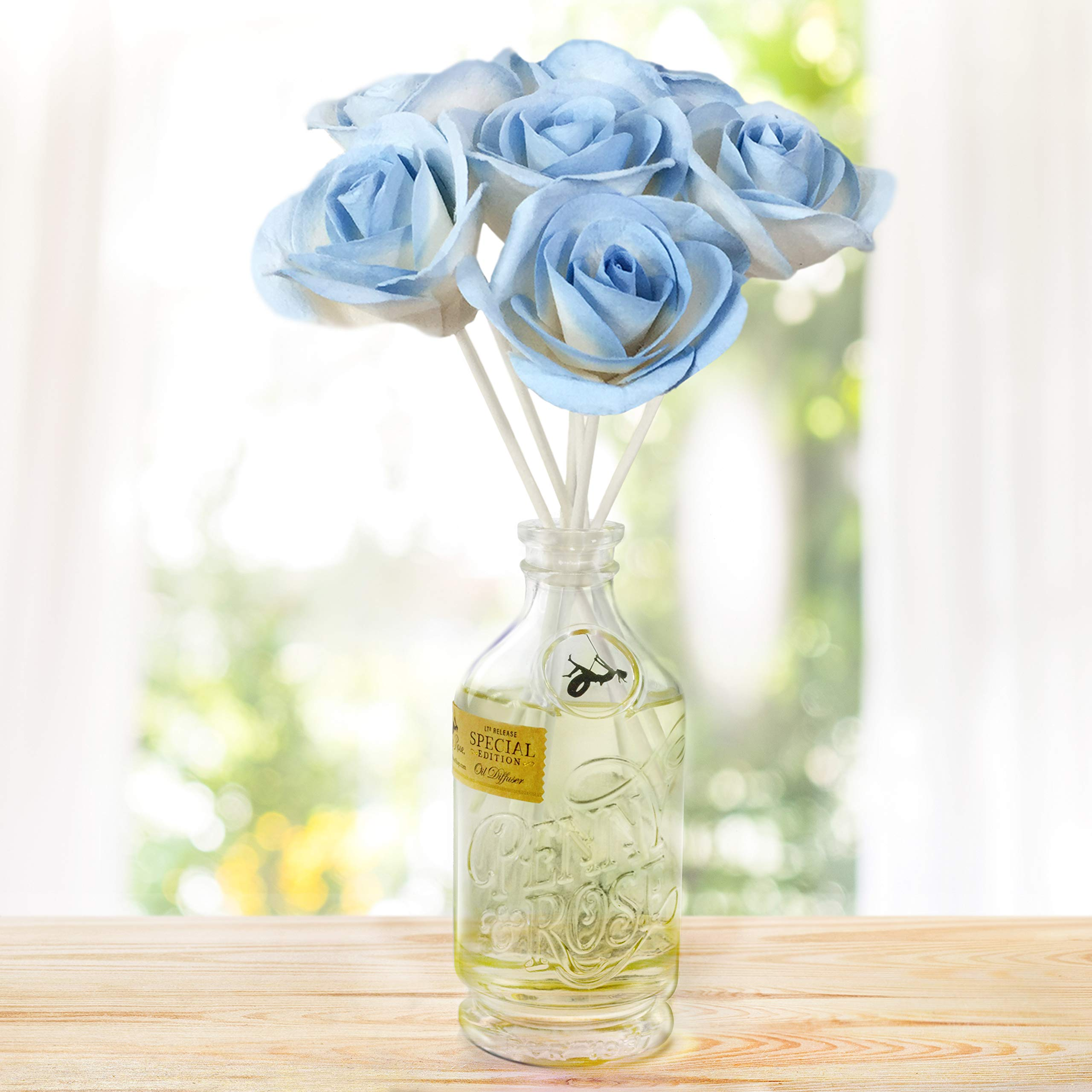 Penny & Rose Sky Rose Diffuser | Lawn Chair Lemonade Oil Scent by PENNY AND ROSE (Image #2)