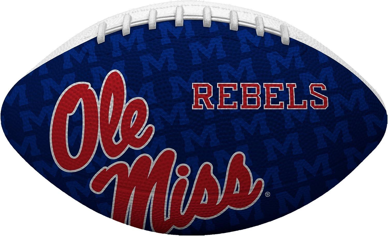 NCAA ジュニアサイズフットボール すべてのチームのオプションあり Mississippi Old Miss Rebels