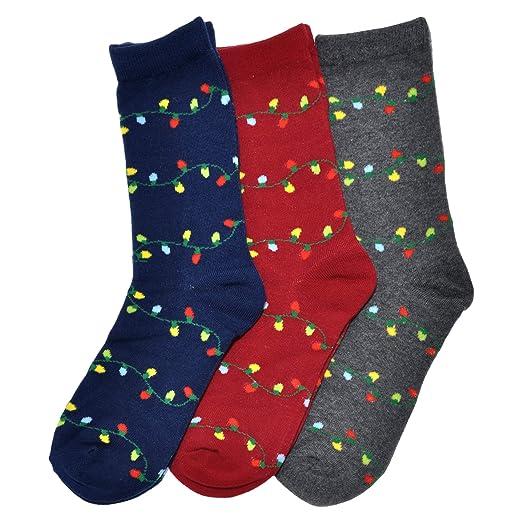 2ae1e32fc Angelina Novelty Assorted Crew Socks at Amazon Women s Clothing ...