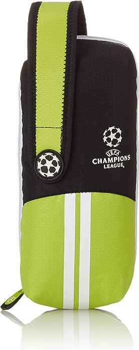 UEFA Champions League Estuche Multiportatodos, Color Verde: Amazon.es: Zapatos y complementos