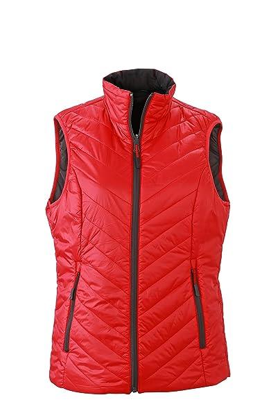 James /& Nicholson Womens Padded Body Warmer Gilet Vest