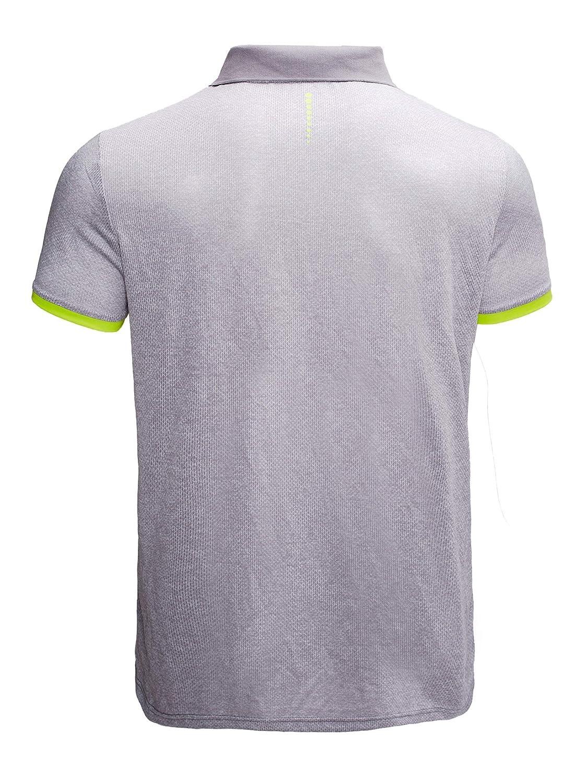GEEK LIGHTING Mens Quick-Dry Short Sleeve Polo Sport Shirts