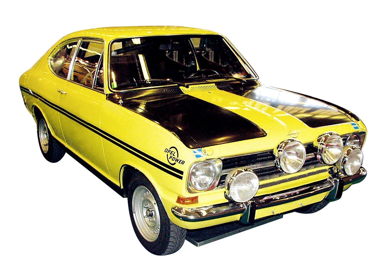 Schuco Sammlermodell, 450351100 - Opel Kadett B Coupé, gelb-schwarz,  Sammlermodell, Schuco 1:43 16a440