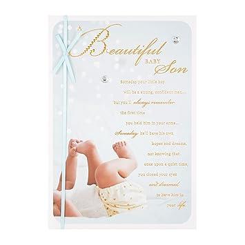 Hallmark 25490449 - Tarjeta de felicitación para bebé ...