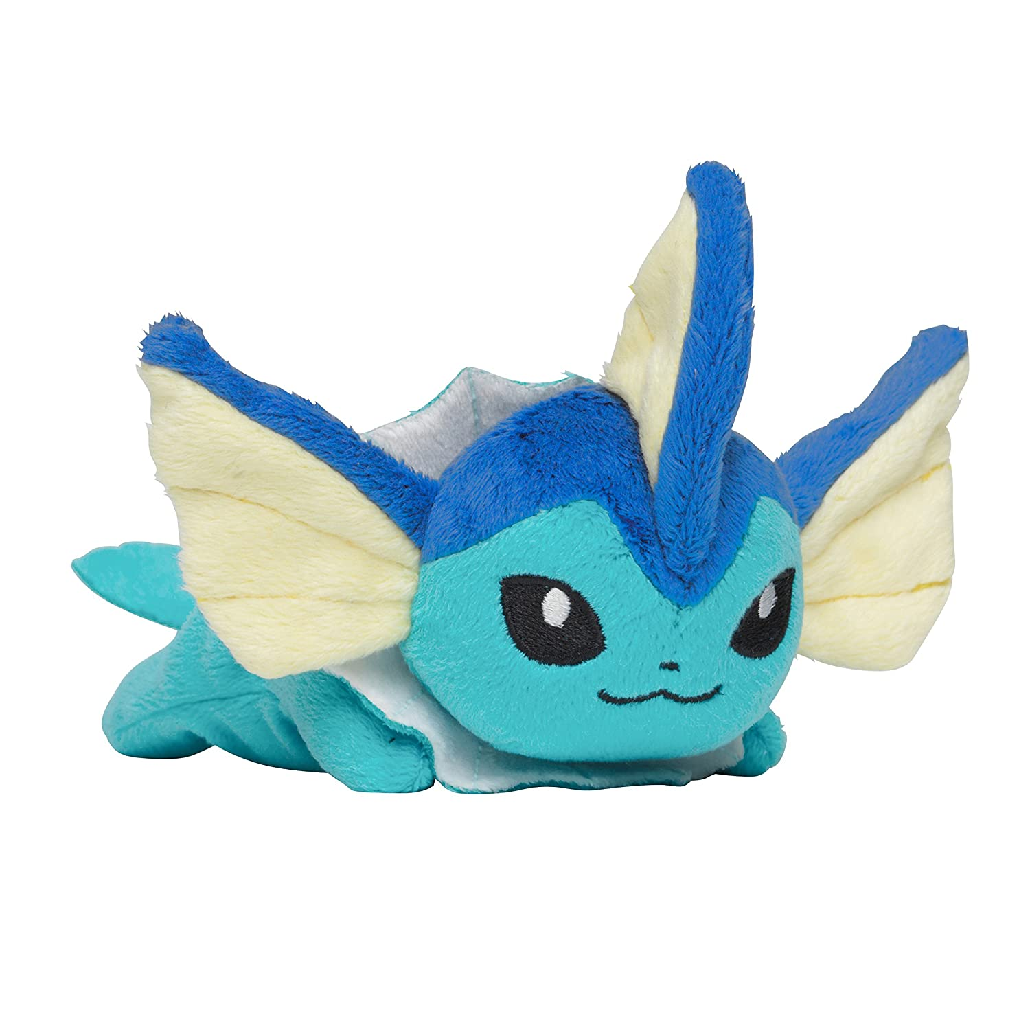 Amazon.com: Pokemon Center Original Kuttari Stuffed Vaporeon: Toys & Games