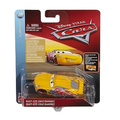 Disney Pixar Cars Die-cast Final Race Cruz With Accessory Card Vehicle: Toys & Games