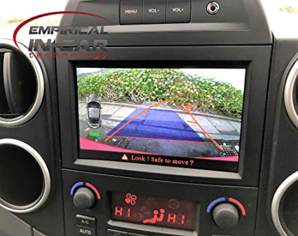 Peugeot Partner Tepee - Kit de cámara de Marcha atrás