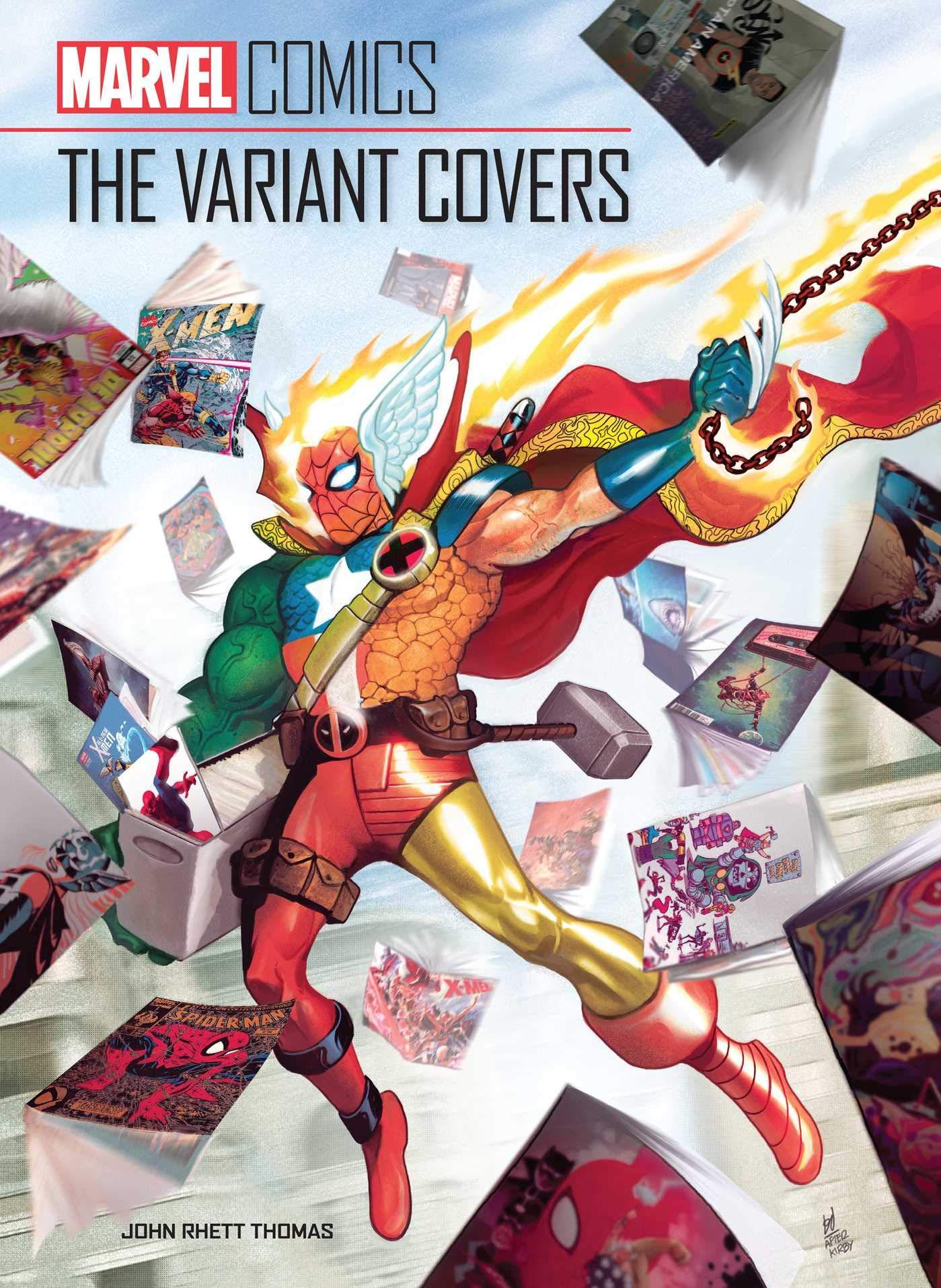 Marvel Comics: The Variant Covers: Thomas, John Rhett: 9781683838777: Amazon.com: Books