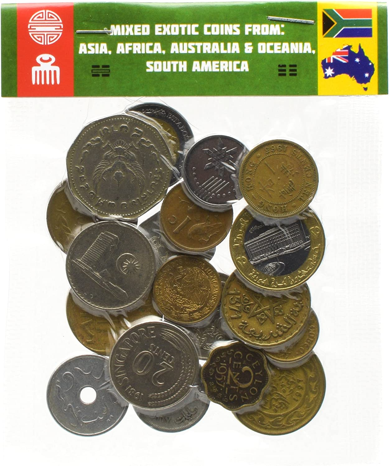 FREE SHIP 40 EXCELLENT Uncommon Coins Old Eastern Caribbean States Coin Lot