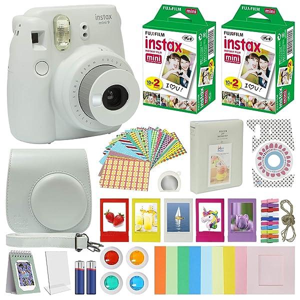 Shaveh Polaroid Snap abstracto de arte colorido Z2300 Mini /álbum de fotos con 108 bolsillos para Fujifilm Instax Mini 11 9 8 c/ámaras SocialMatic Instant Camera e impresora instant/ánea Zip