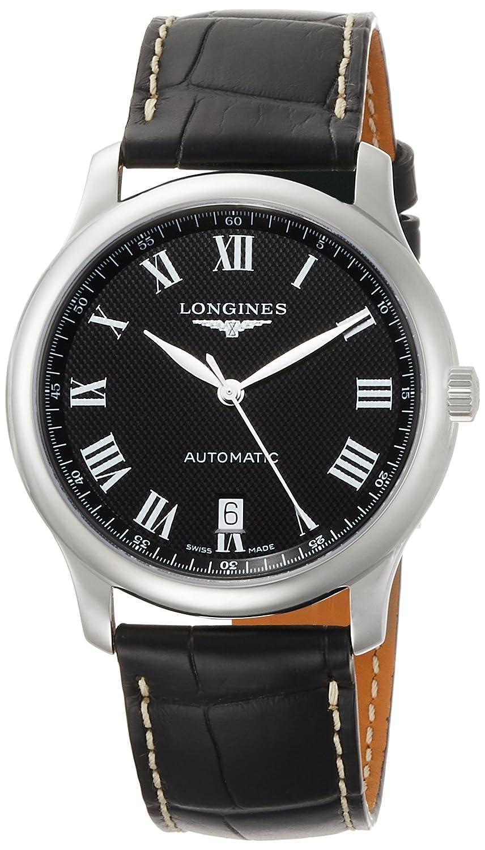 [ロンジン]LONGINES 腕時計 ロンジン マスターコレクション 自動巻き L2.628.4.51.7 メンズ 【正規輸入品】 B076VD4TFY