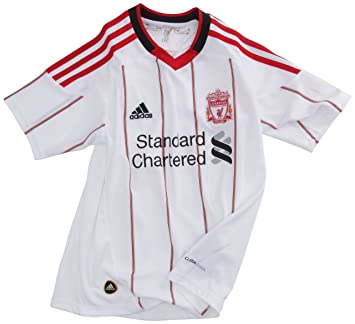 adidas Lfc A Jsy Y exterior del Liverpool FC-Camiseta de fútbol para niño,